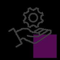 Icone plateforme de services